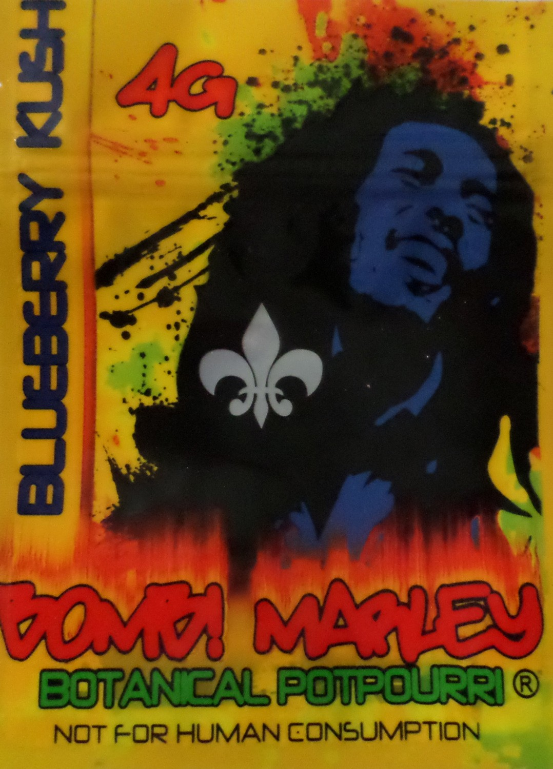 Bomb Marley 4g incense 10x pack