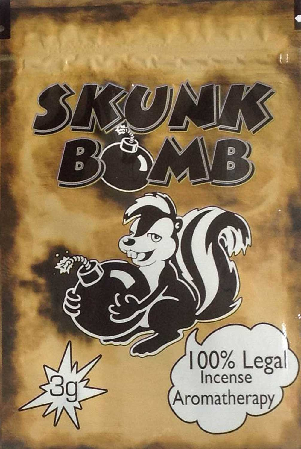 Skunk bomb incense 10x pack