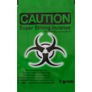 Caution green label 3x pack